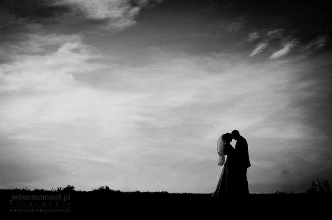 fotografia ślubna czarno biała