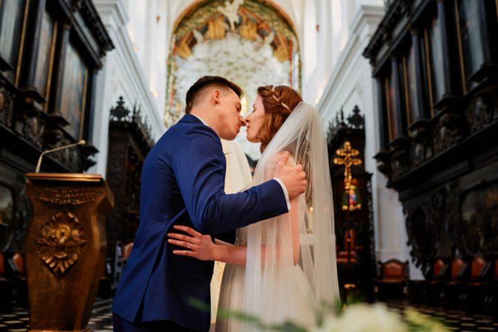 ślub w Katedrze Oliwskiej w Gdańsku