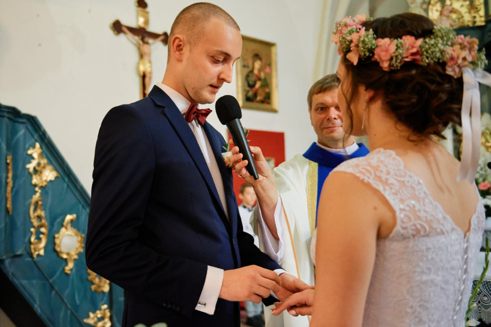 ślub wesele w Ostrowitem