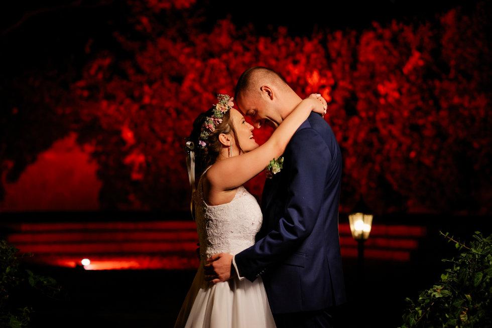 nocny plener ślubny fotograf trójmiasto