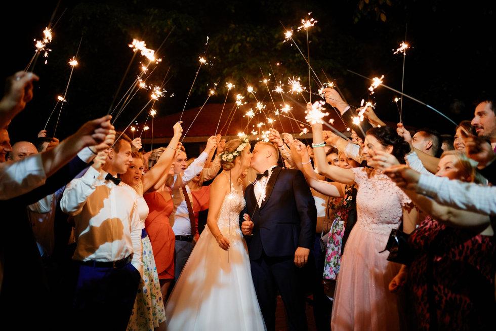 sztuczne ognie na wesele starogard gdański