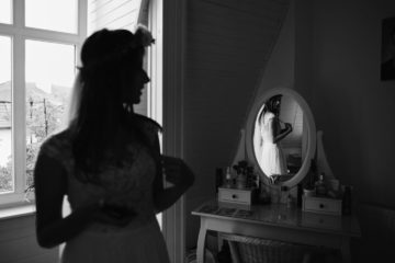 panna młoda lustro