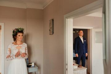 pierwsze spojrzenie fotograf na ślub Człuchów