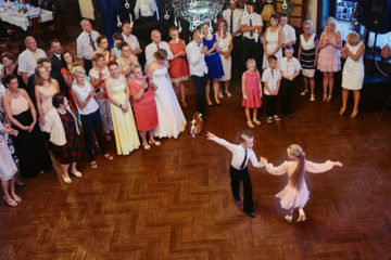 taniec na weselu Gościniec Chojnice