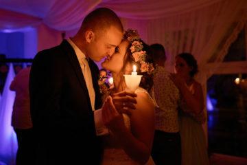 tanie ze świeczkami wesele ślub