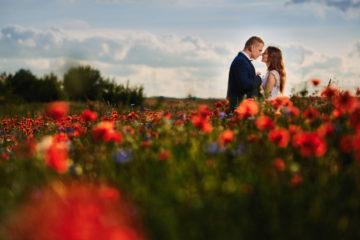 zdjęcia ślubne w makach
