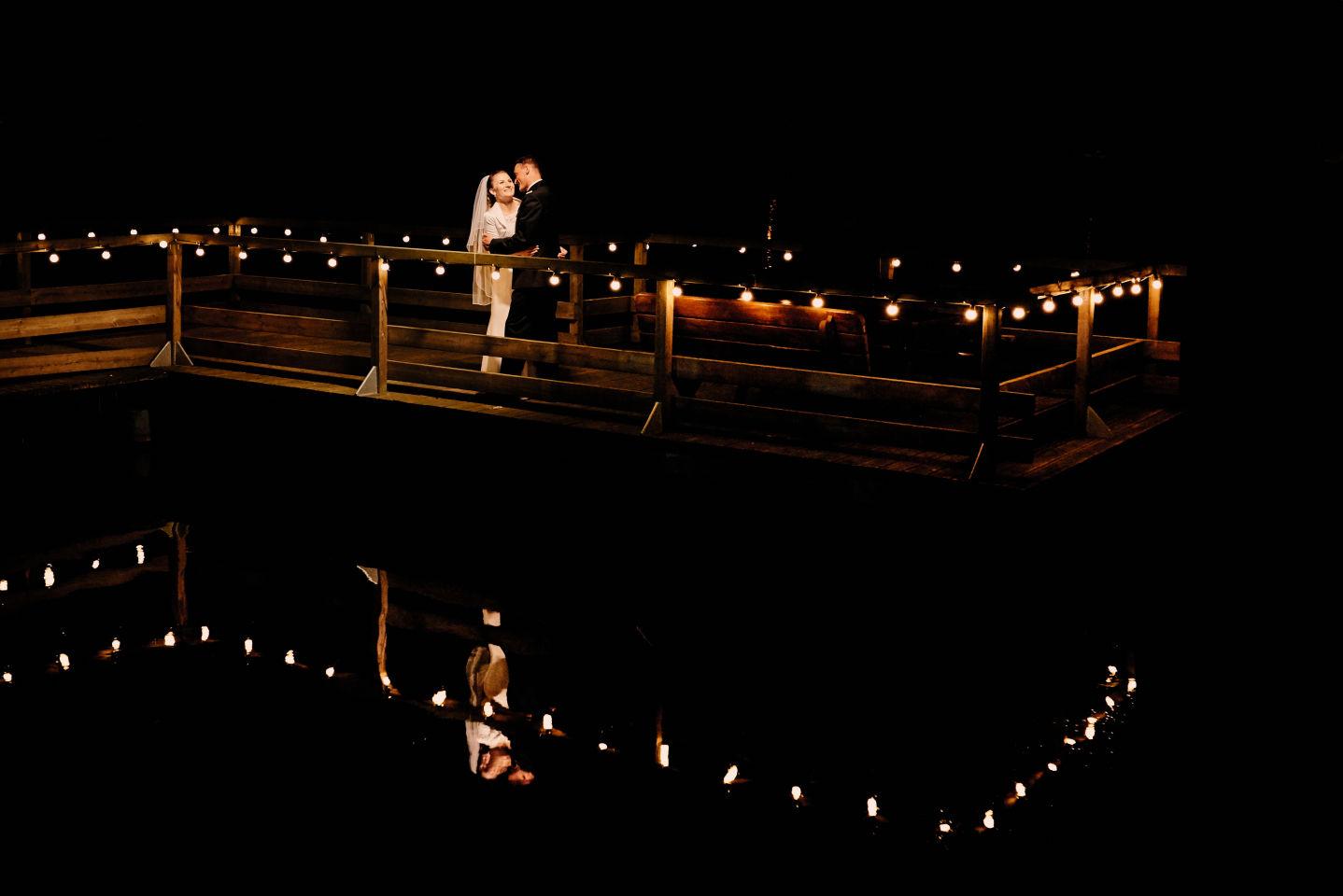 nocny plener fotograf na wesele Człuchów